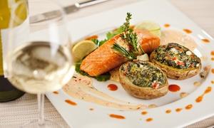 Lo Chalet: Degustazione di mare con calici di vino per 2 o 4 persone al ristorante Lo Chalet (sconto fino a 56%)