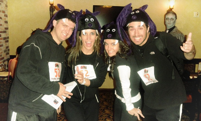 The Philamazing Race's BOO-tacular Halloween Race - Center City West: The Philamazing Race's BOO-tacular Halloween Race for Teams of Two, Three, or Four (Up to 73% Off)