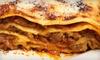OOB Capparelli's Italian Food & Pizza - Pecan Valley: $15 for $30 Worth of Italian Food at Capparelli's Italian Food & Pizza