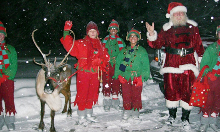 2-Jo's Farm - Periwinkle Place Manor B&B: Santa Claus Home Visit on December 21, 23, 24, or 25 from 2-Jo's Farm (Up to 67% Off)