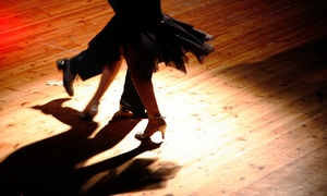 Premiere Ballroom: Four Group Ballroom Dance Lessons for One or Two at Premiere Ballroom (Up to 58% Off)