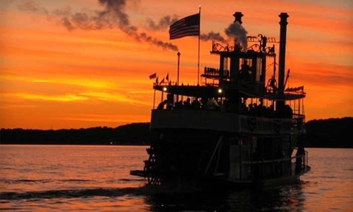 """""""Chautauqua Belle"""" - Multiple Locations: $20 for a 105-Minute Historic or Cocktail Cruise for Two from Chautauqua Belle ($40 Value)"""