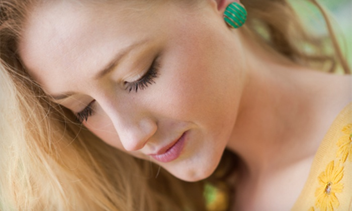 Natalie at Hair Play & Day Spa - Kaysville: Full Set of Eyelash Extensions with Optional Fill from Natalie at Hair Play & Day Spa (Up to 52% Off)