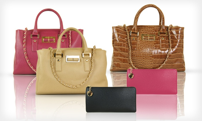 Ivanka Trump Wallets or Satchels: Ivanka Zip Wallets or Alexandrite Satchels (Up to 80% Off). 3 Colors Available. Free Shipping on Orders of $15 or More.