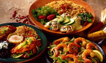 Mexican Food at Papi Chulo's Mexican Grill & Cantina (Up to 48% Off). Three Options Available.