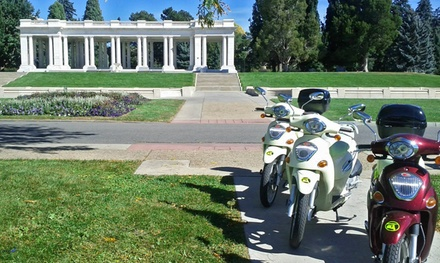 Three-Hour Scooter Rental for 2, 4, or 10 from ScooTours Denver (Up to 53% Off)