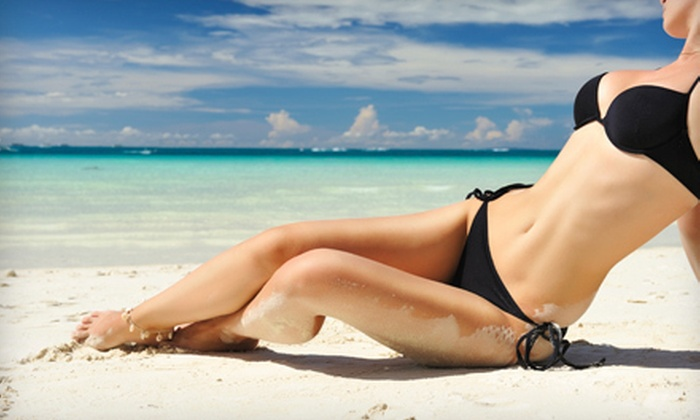 Fountain of Youth Day Spa - Southeast Springfield: One, Three, or Five Airbrush Spray Tans at Fountain of Youth Day Spa (Up to 70% Off)