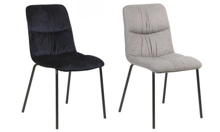 Set di sedie da soggiorno rachel disponibili in colori