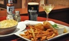 The Long Room - New York: Gastropub Meal with Starters, Entrees, and Drinks for Two or Four at The Long Room (Up to 59% Off)