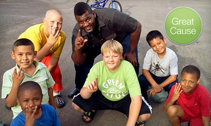Buster Mathis Foundation - Grand Rapids: $10 Donation to Bullying-Prevention Program