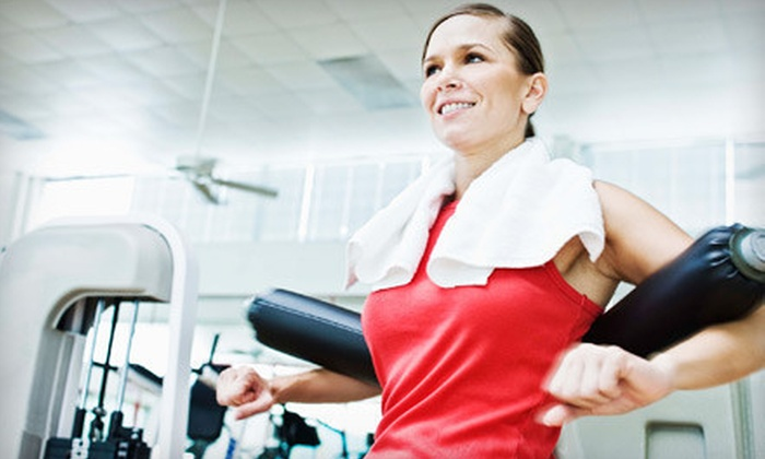Lady Fitness - Multiple Locations: $15 for 10 Visits to Lady Fitness ($100 Value)