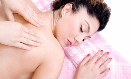 One-Hour Swedish or Couples Massage Package at The Massage Works (Up to 56% Off)