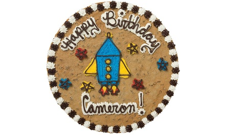 $10 for a 12-Inch Cookie Cake with Writing at Great American Cookies ($22 Value)