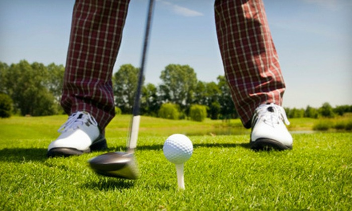 The Highlands Golf Club - Westside Connection: 18-Hole Golf Outing with Cart Rental for Two or Four at The Highlands Golf Club (Up to 61% Off)