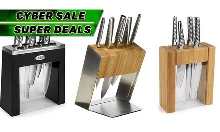 Global Knife Block Set: Teikoku ($229), Katana ($299), Kabuto ($329), Tashaki ($429) (Don't Pay up to $529.95)