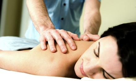 Massages and Couple's Massage With Mini-Facials at Spa Revive (Up to 61% Off). Five Options Available.
