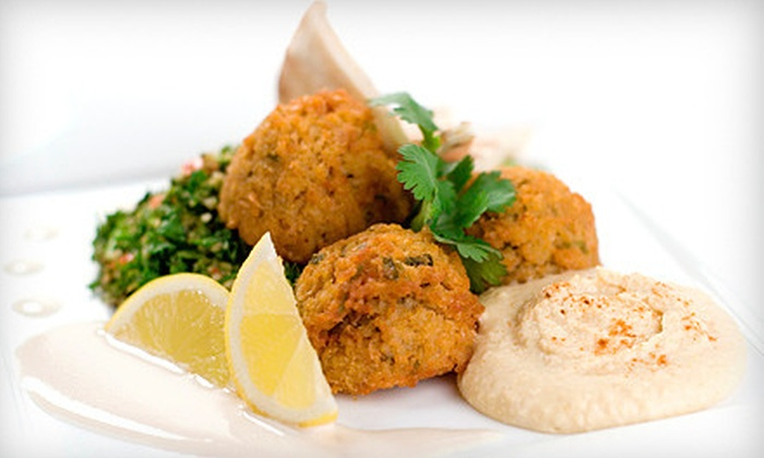 Parsley Mediterranean Grill - Paradise: $16 for Two Groupon, Each Good for $16 Worth of Mediterranean Food and Drinks at Parsley Mediterranean Grill ($32 Value)