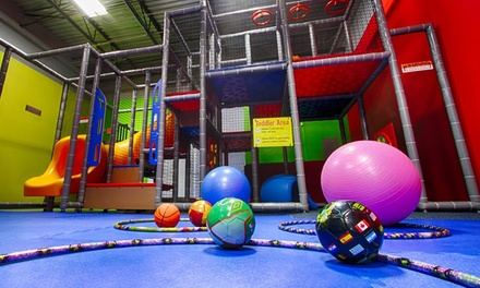 5 or 10 Open Play Admissions at Rebound Kids (Up to 71% Off)