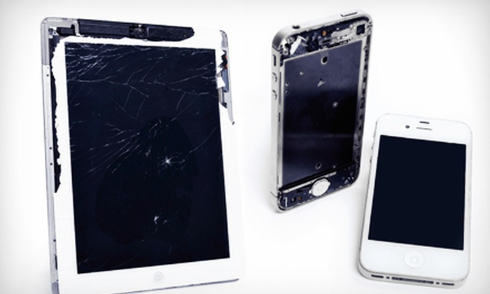 iRevive - Multiple Locations: Screen Repair for an iPhone 3G, 4, or 4S or an iPad at iRevive (Up to 52% Off)