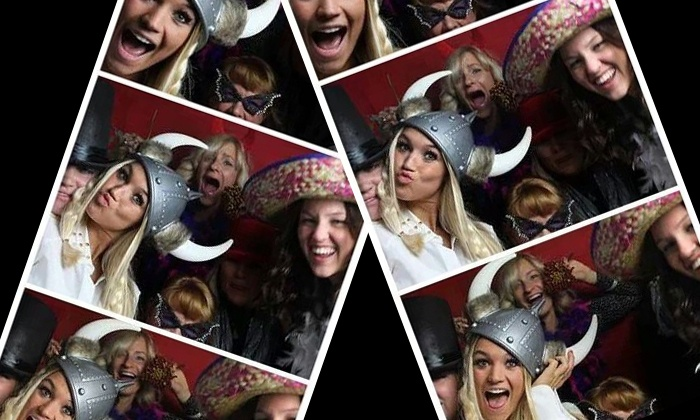 Picstarz - Detroit: Two- or Three-Hour Photo-Booth-Rental Package from PicStarz (Up to 53% Off)