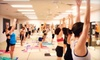 Vegas Hot! Yoga and Pilates - Sovana: Barefoot Bootcamp, Hot Yoga, Hot Pilates, Power Vinyasa, and Kettlebells Classes at Vegas Hot! Yoga and Pilates (Up to 86% Off). Two Options Available.