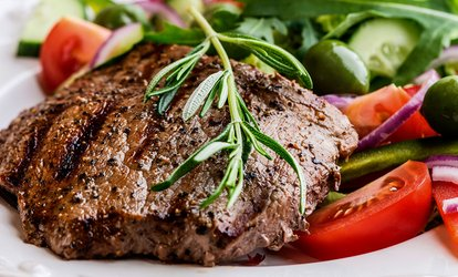 image for $12 for $20 Worth of New York or Rib Eye Steaks from Belleview Meats & Seafood