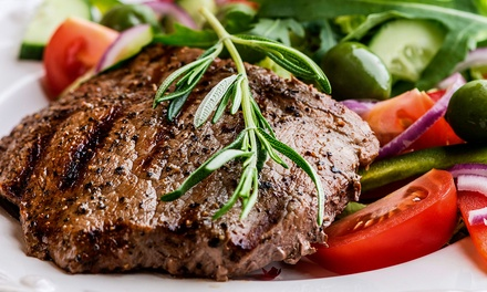 $11 for $20 Worth of New York or Rib Eye Steaks from Belleview Meats & Seafood