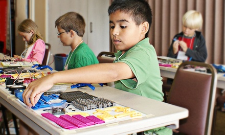 $119 for a Five-Day Robotics Day-Camp Session from Robots-4-U (Up to $299.95 Value). 12 Locations Available.