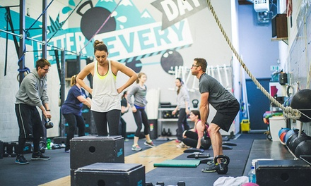 One or Two Months of Unlimited Boot Camp and Yoga Classes at CrossFit Elevation (Up to 58% Off)