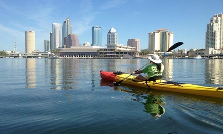 Two- or Four-Hour Kayak or Paddleboard Rental for Two People at Kayak Valet (Up to 51% Off)