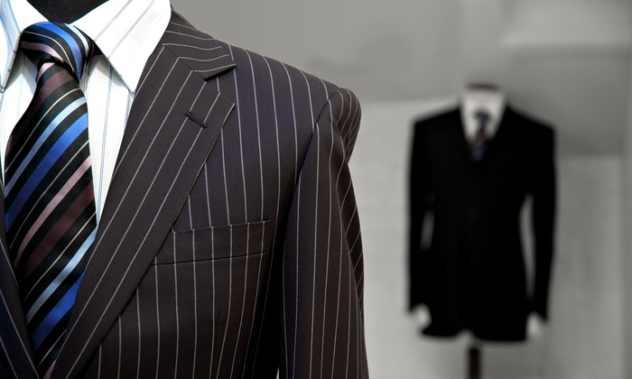 Punjab House - Multiple Locations: Custom Suit or Shirts from Punjab House (Up to 65% Off). Four Options Available.