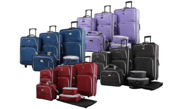 image placeholder image for verdi quest premium rolling luggage set 7piece