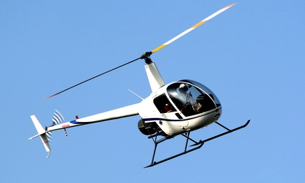 $149 for Introductory Helicopter Lesson at HeliSat ($312.50 Value)