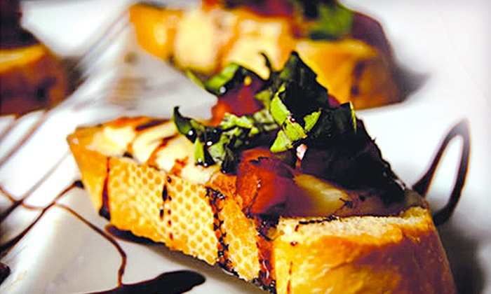 Tabella at Clear Creek Winery - Kemah: Farm-to-Table Dinner for Two or Four at Tabella at Clear Creek Winery (Up to 52% Off). Three Options Available.