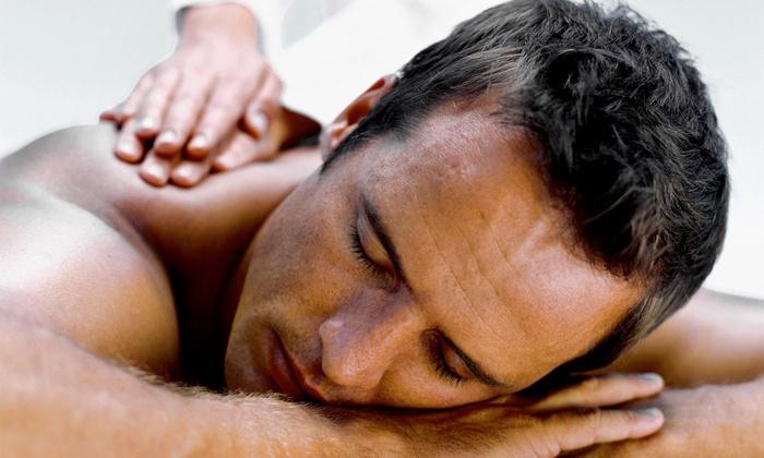 Precision Barber Club - Miami Shores: 60-Minute Massage with Optional Facial or Three-Hour Spa Package at Precision Barber Club (Up to 53% Off)