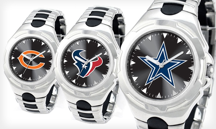 Game Time NFL Victory Men's Watches: $35 for a Game Time NFL Victory Men's Watch ($69.95 List Price). 14 Teams Available. Free Shipping.