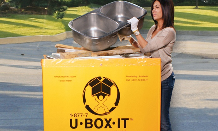 U-Box-It  - Toronto (GTA): Removal of Up to 500- or 1,000-Pounds of Junk from U-Box-It (Up to 56% Off)