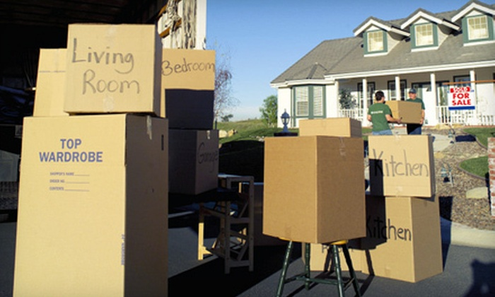 Twins Movers - Edgewater: Two or Four Hours of Local Moving Services from Twins Movers (Up to 75% Off)