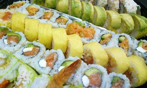 California Roll Factory: $12 for $20 Worth of Sushi and Japanese Food at California Roll Factory