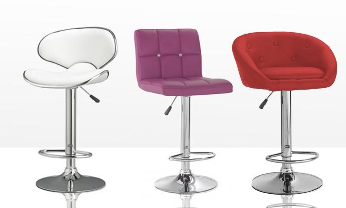 tabourets de bar design groupon. Black Bedroom Furniture Sets. Home Design Ideas