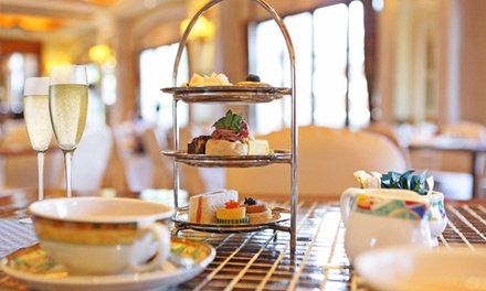 Traditional, Sparkling or Bottomless AwardWinning Afternoon Tea for Two or Four at Brome Grange Hotel