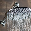 DreamSpa 8-Inch Rainfall Shower with Extension Arm