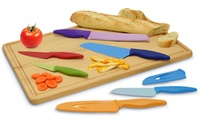 GROUPON: 6-Piece Color-Coded Knife Set 6-Piece Color-Coded Knife Set
