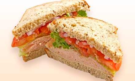 Sandwiches and Treats at Sisters In Thyme (Up to 50% Off). Two Options Available.