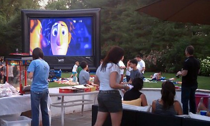 FunFlicks Outdoor Movies - Austin: Outdoor-Movie-Party Rental for Up to 50 from FunFlicks Outdoor Movies (Up to 55% Off)