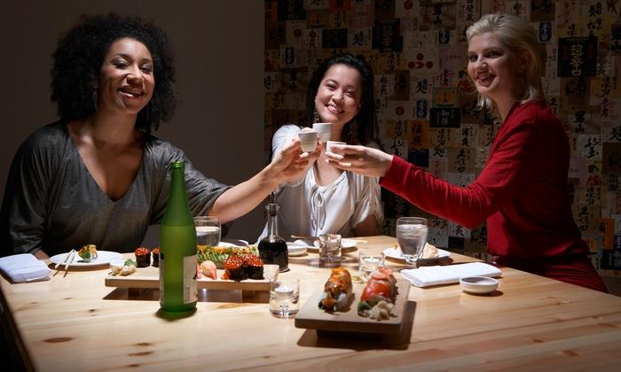 Iron Sushi's Soju Bar - Newark: $15 for $30 Worth of Japanese Drinks atIron Sushi'sSoju Bar