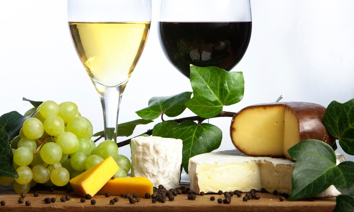 Chateau de Pique Winery - Multiple Locations: Wine-Tasting Package for Two or Four with Cheese Plate and Credits at Chateau de Pique Winery (Up to 62% Off)