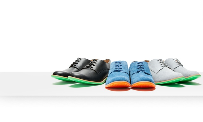 J.D. Fisk Men's Callum Oxford Shoes: J.D. Fisk Men's Callum Oxford Shoes. Multiple Colors Available.