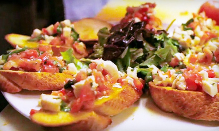 Paper Moon - Georgetown: $20 for $40 Worth of Italian Fare and Drinks for Dinner at Paper Moon