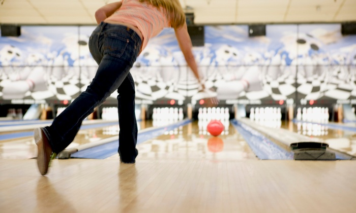 Sunset Lanes - Sunset Lanes: Two Game Bowling Outing for Up to Four with a Large Pizza at Sunset Lanes (45% Off)